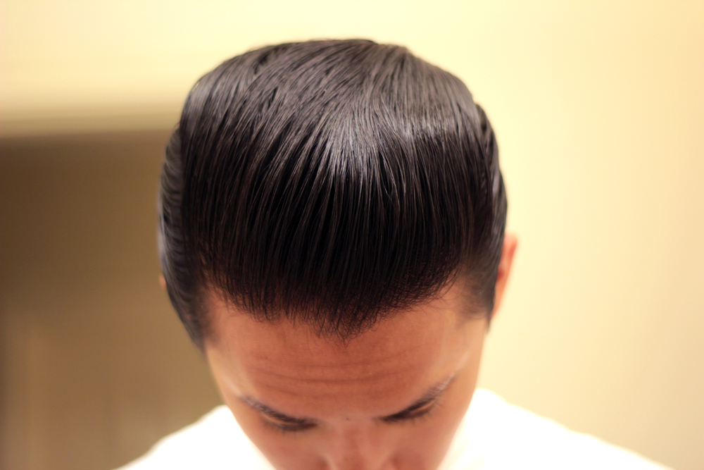 shiner gold pomade heavy hold pomp - top