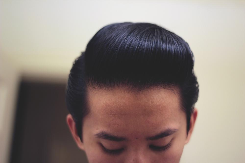 Daimon Barber Hair Pomade - Pomp Front