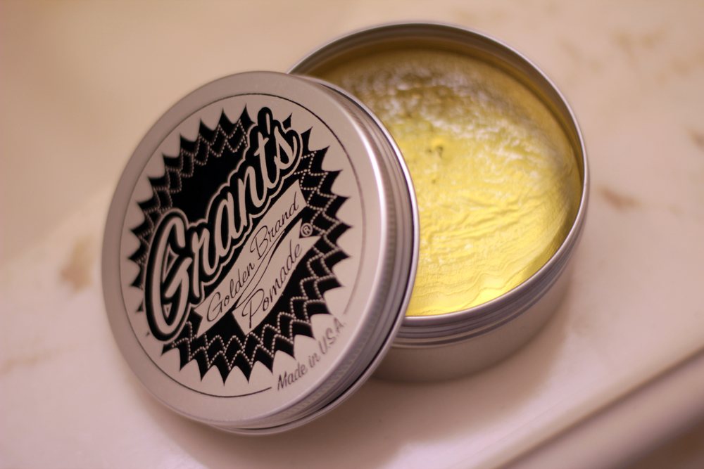 grant's golden brand pomade color