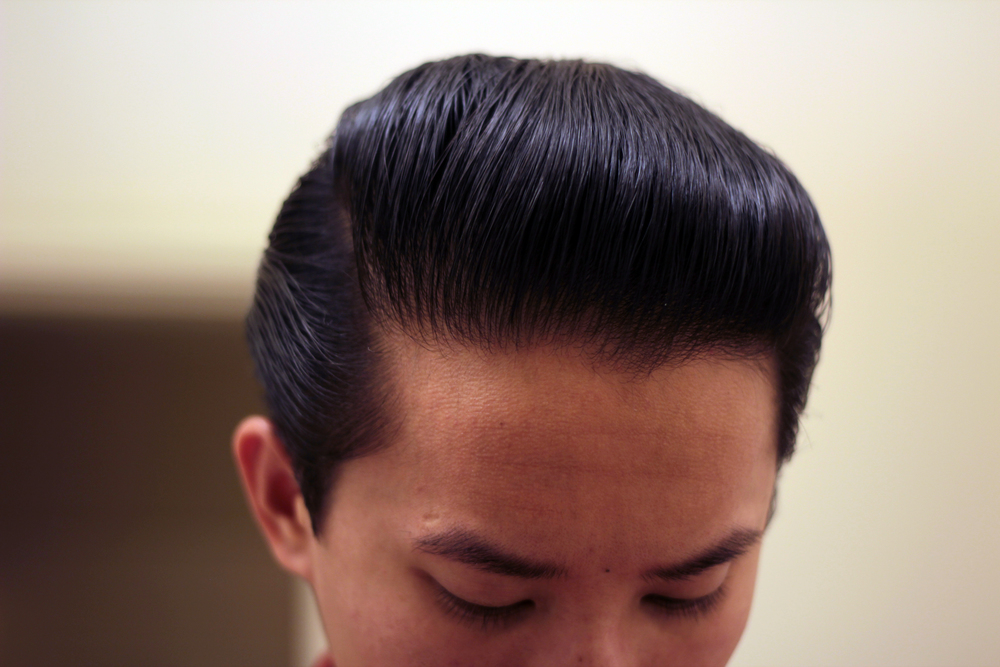 grant's golden brand pomade pomp - side