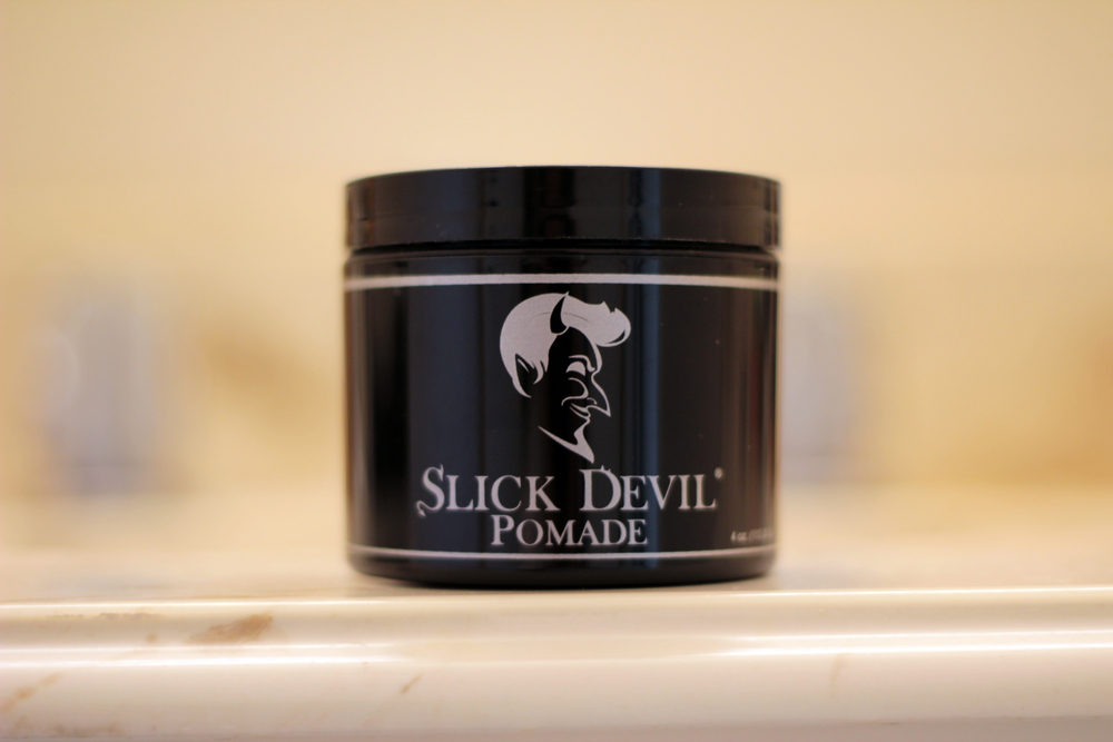 slick devil pomade jar