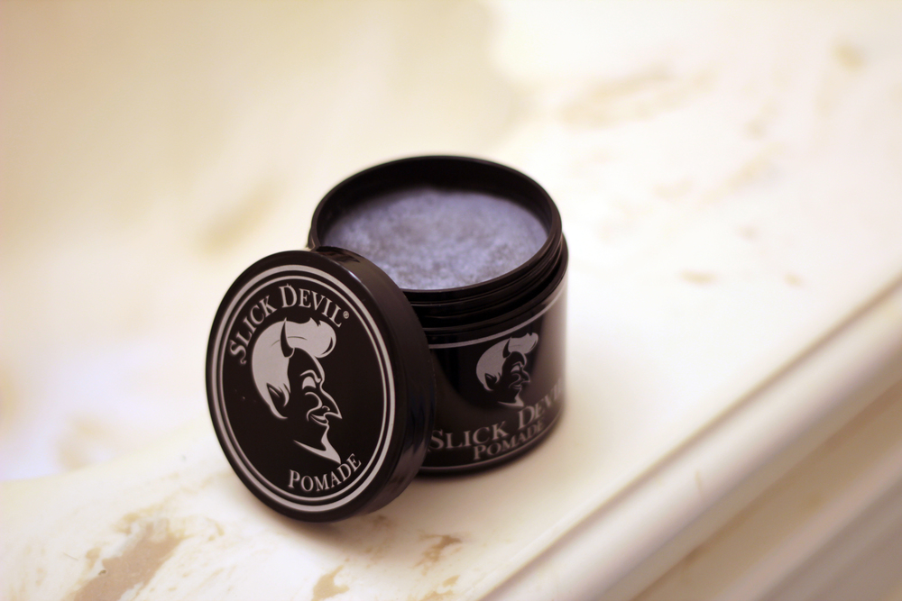 slick devil pomade inside