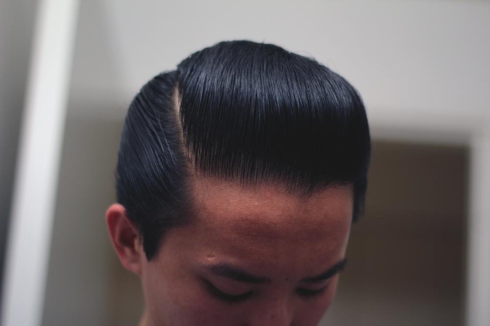 Lockhart's Authentic Hair Pomade Heavy Hold part
