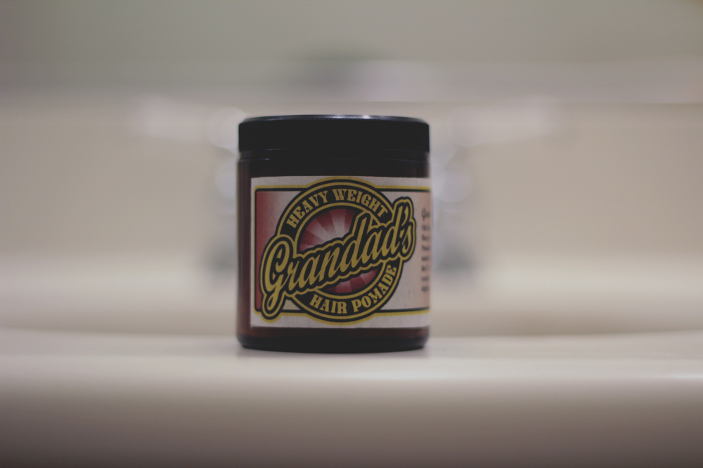 Grandad's Heavy Weight Hair Pomade - jar