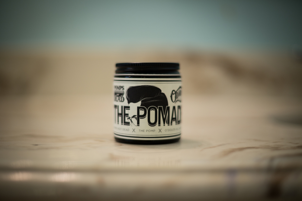 The Pomade jar