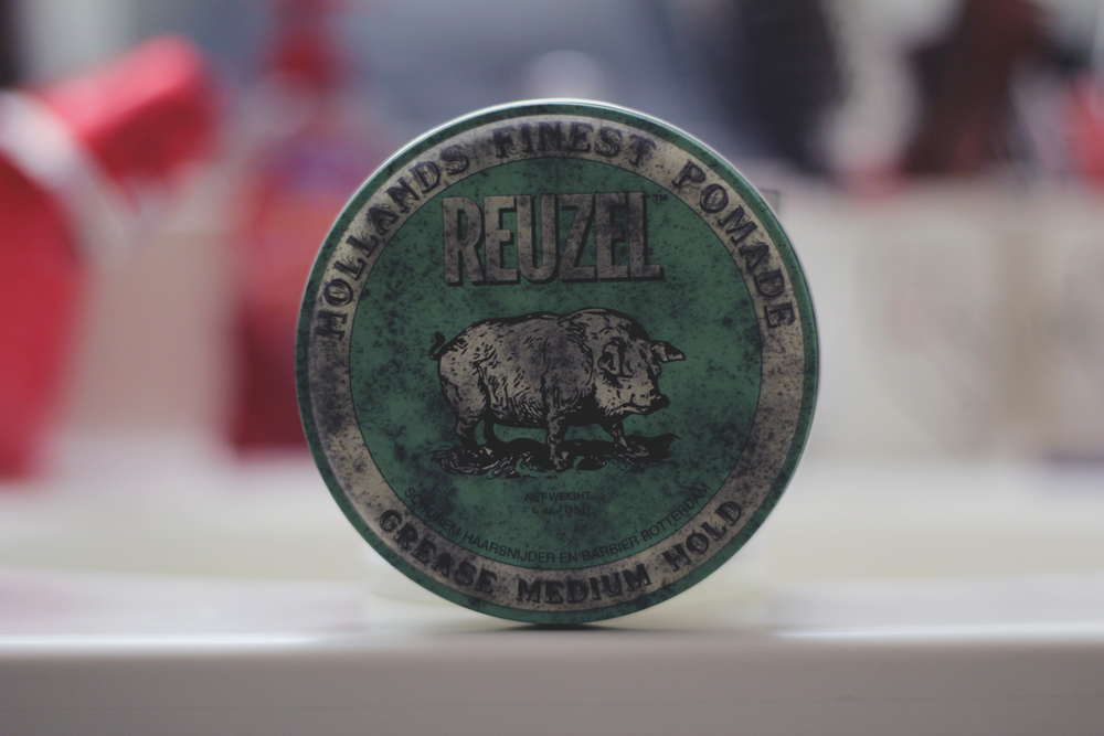 Reuzel Grease Medium Hold Pomade jar