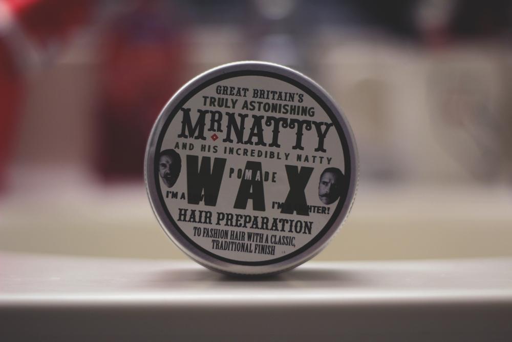 Mr. Natty Wax Pomade jar