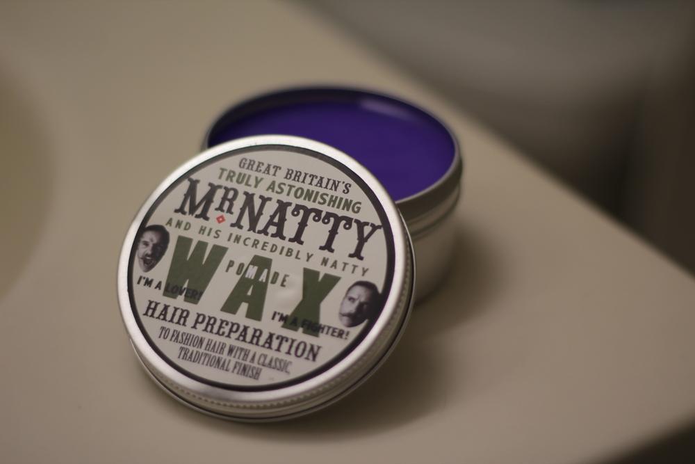 Mr. Natty Wax Pomade texture