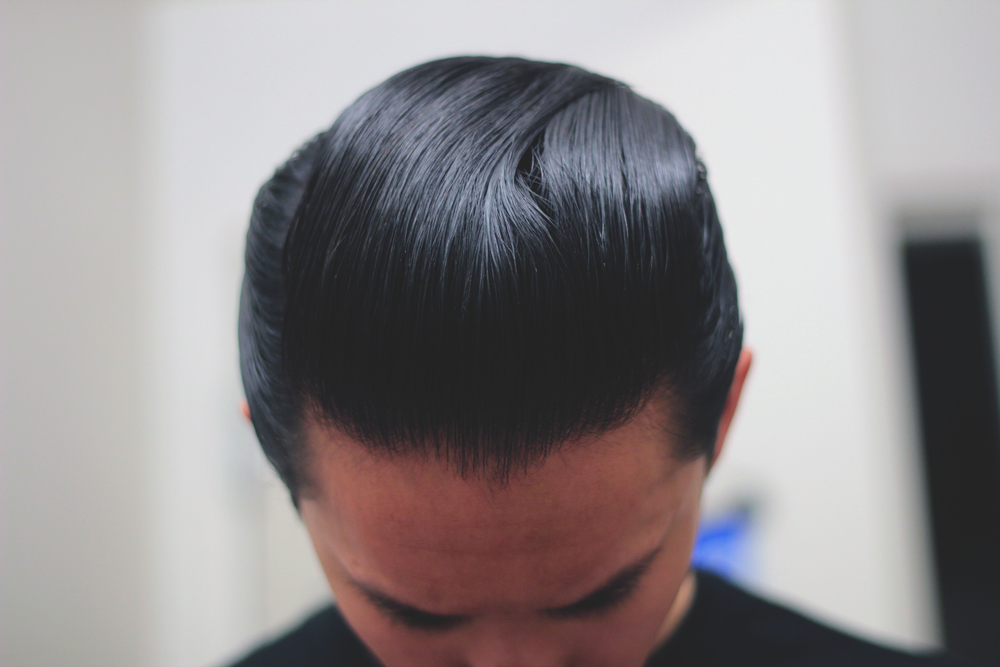 Byrd Hair Pomade - pomp top