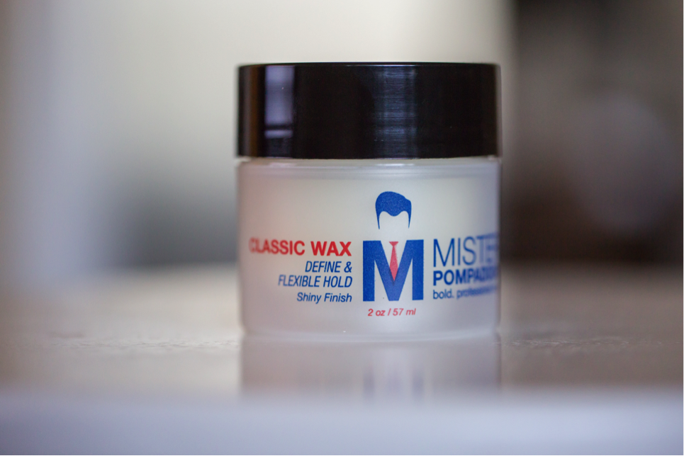 Mister Pompadour Classic Wax jar