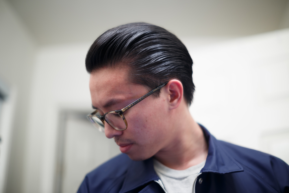 The Pomp Pomade Pompadour Loose Slick Back Rustin Heavy Hold