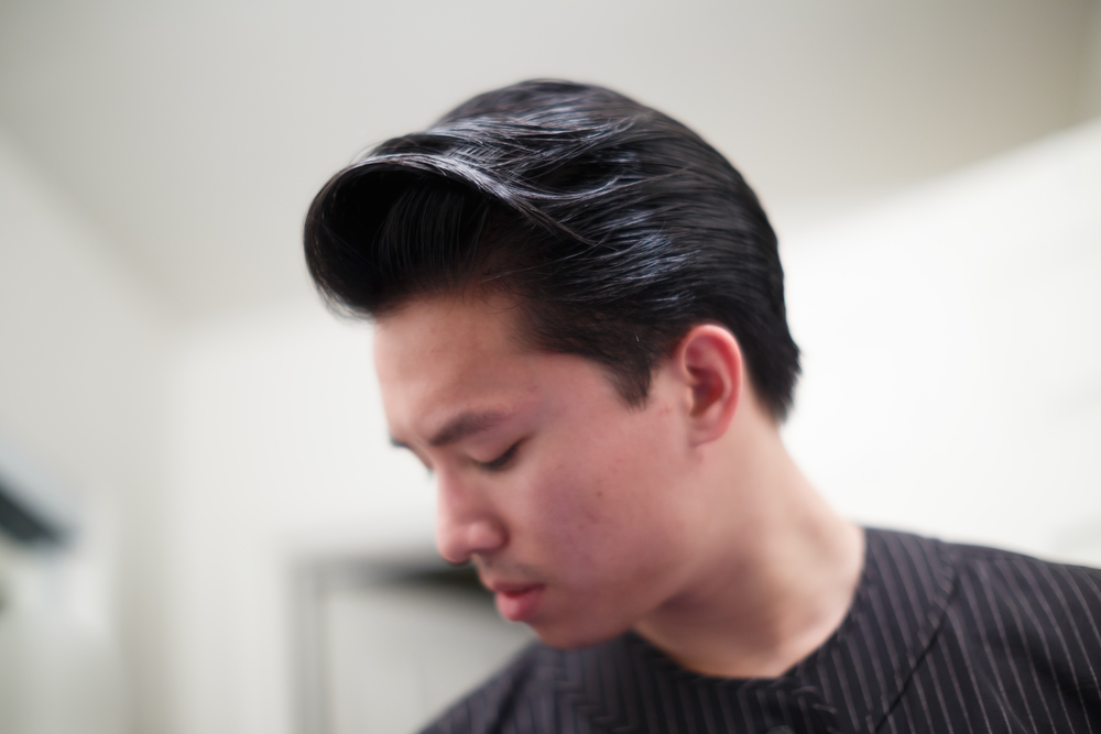 Rustin Light Hold Pomade Pompadour Failure Destruction