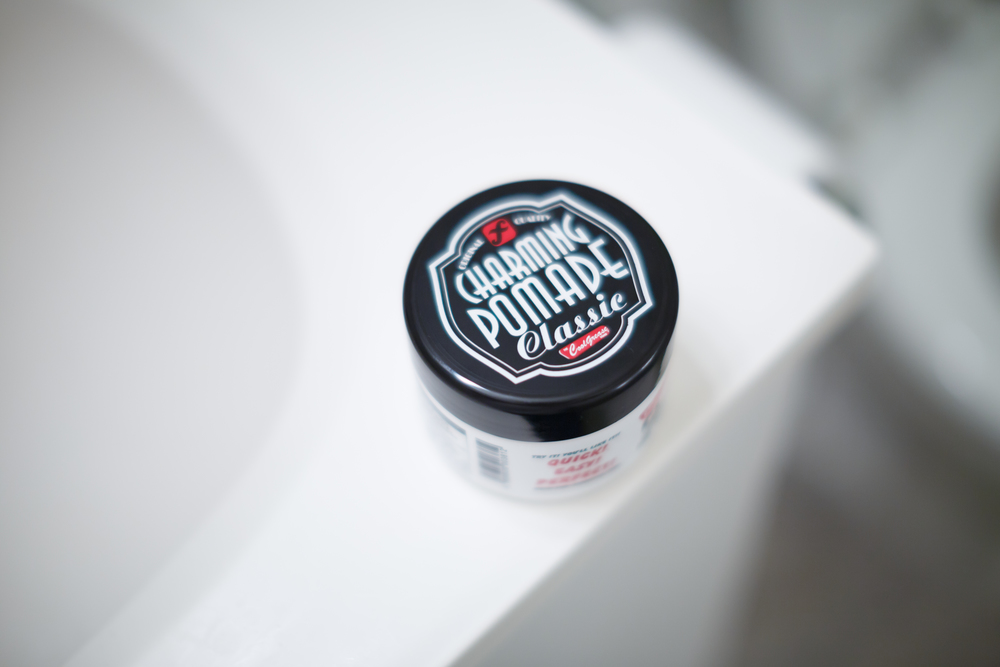 Charming Pomade Classic Jar Unopened Design Presentation Look