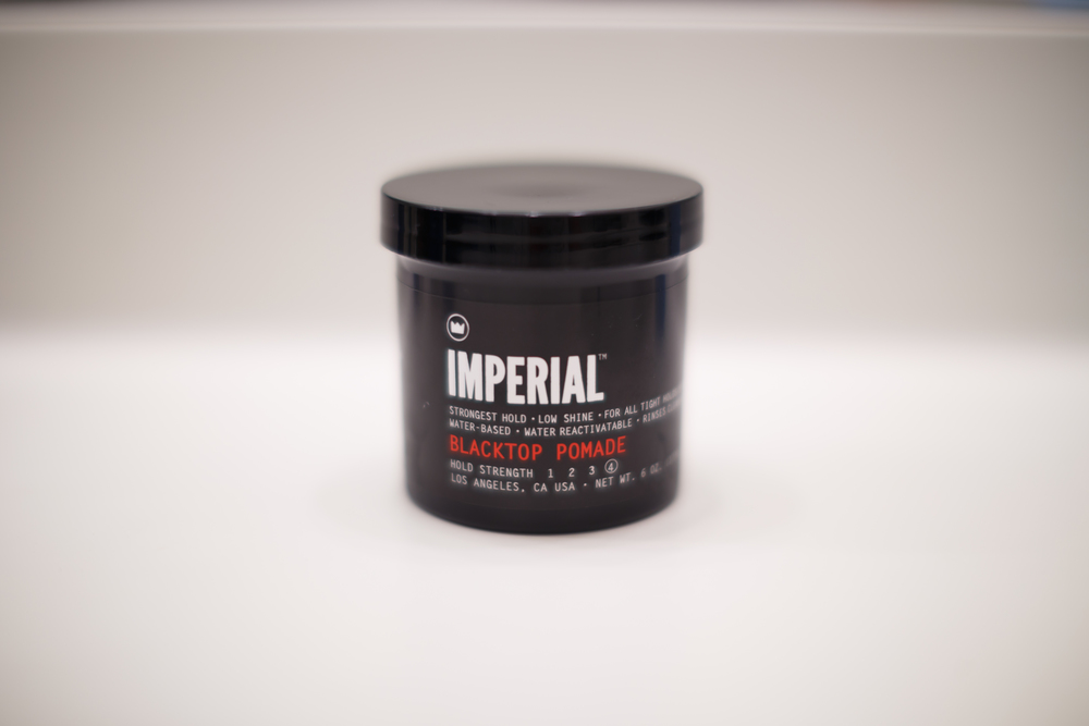 Imperial Blacktop Pomade Water-Based Water Based Barber Products Classic Pomp ThePomp Pompadour