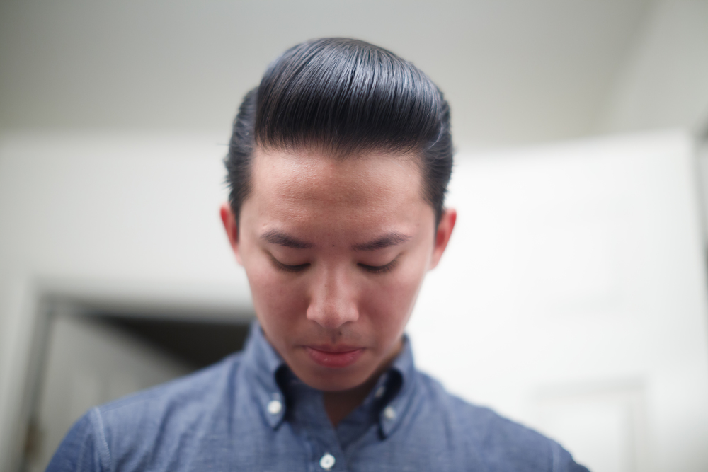 Big Slick Pomade Company Heavy Hold Pomp Pompadour ThePomp Opened Product Jar Tin Can Front Shot Photo Style Hairstyle Haircut