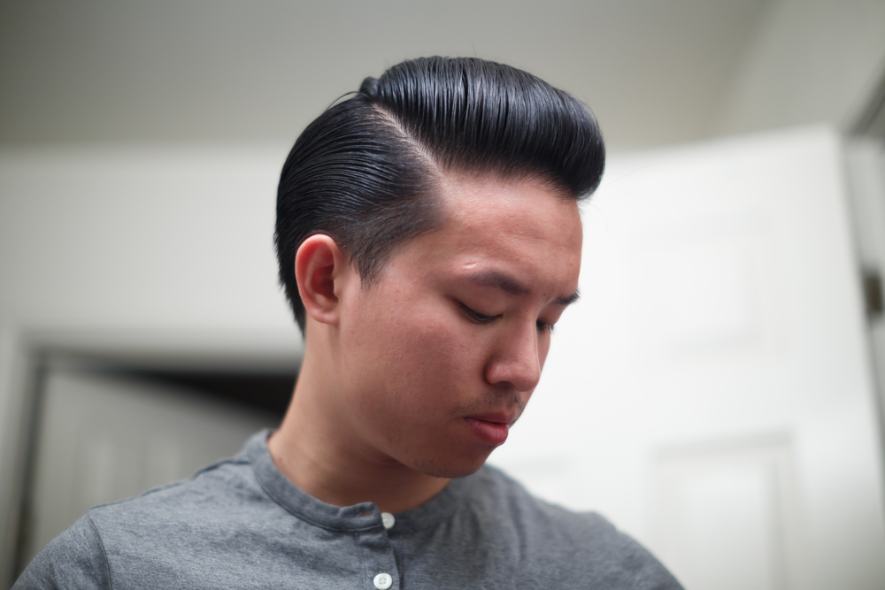 ThePomp Pomp Pomade Pompadour Toar and Roby Hair Heavy Side Profile Front