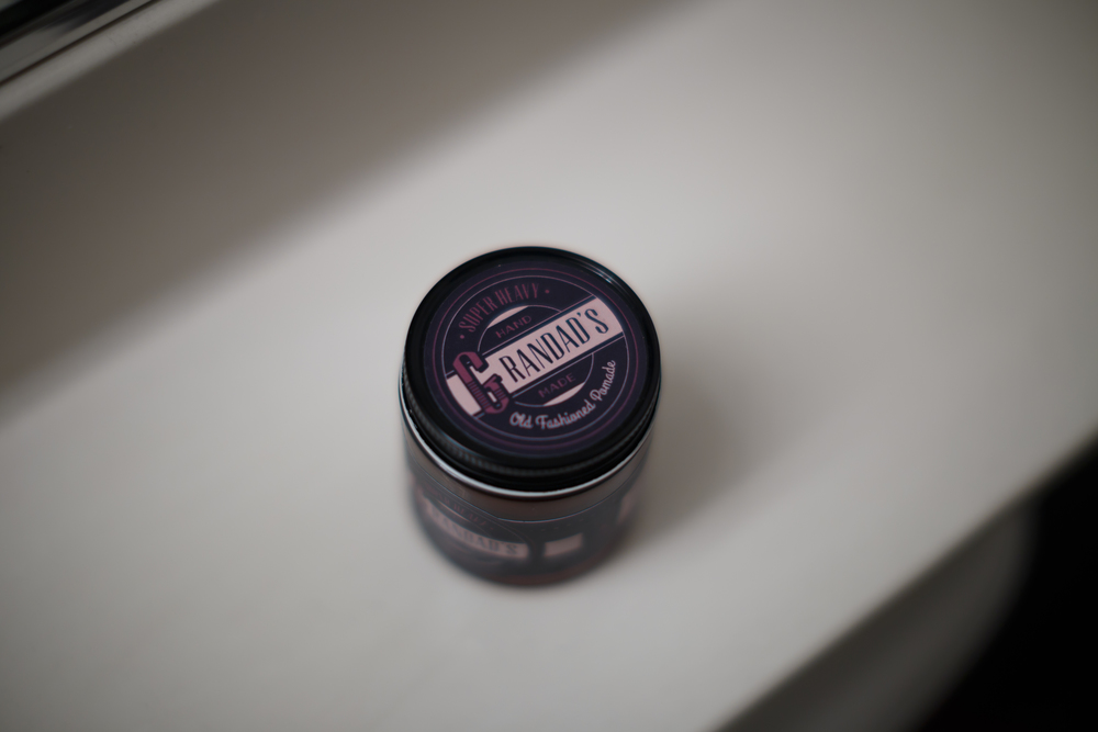 Grandad's Super Heavy Pomade The Pomp Review Example Jar