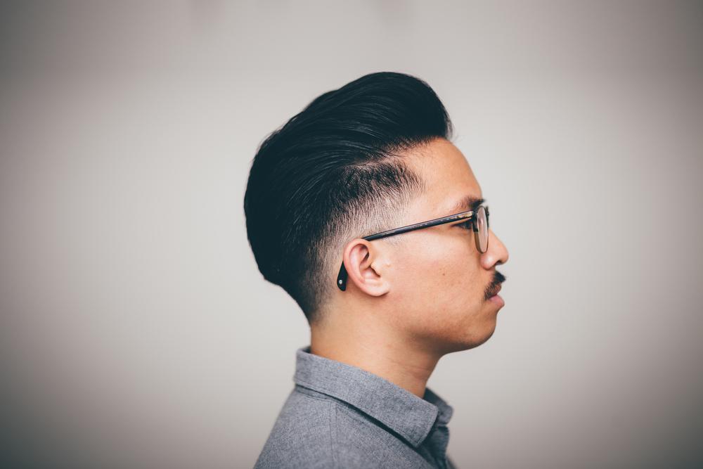 The Pomp's New Haircut -- Low Drop Fade Pompadour