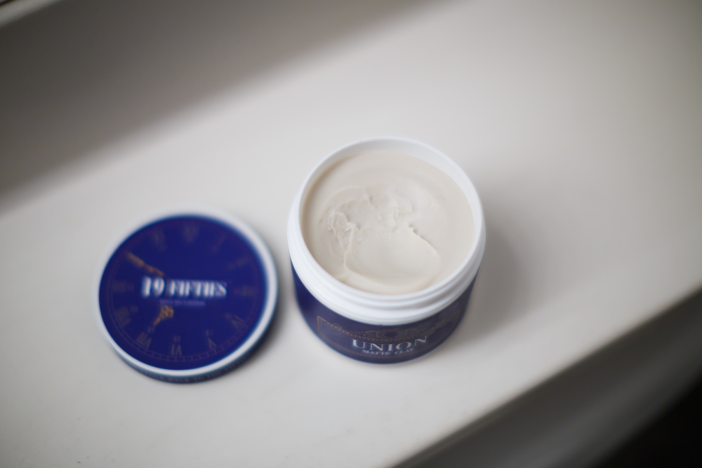 19Fifites Union Matte Clay Review -- The Pomp Opened Jar