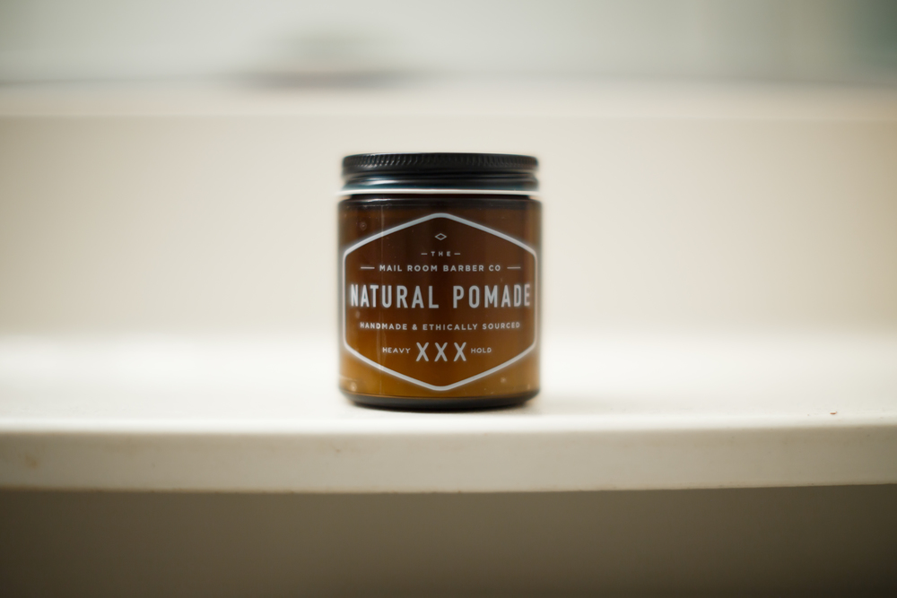 The Mail Room Barber Natural Pomade Heavy Hold XXX Review by The Pomp