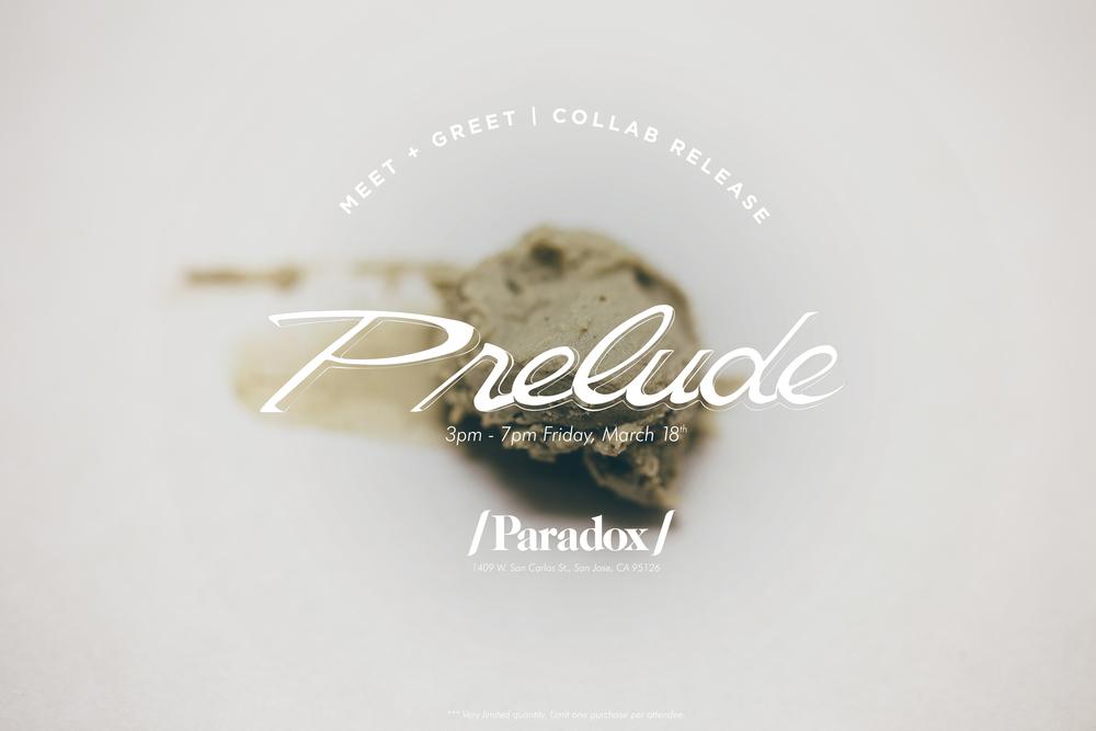 Prelude Release Meet & Greet -- /Paradox/ Barbershop