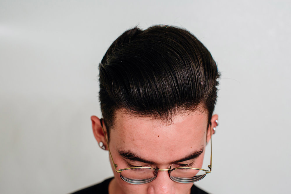 Challenger Blue Matte Styling Cream Top Hairstyle