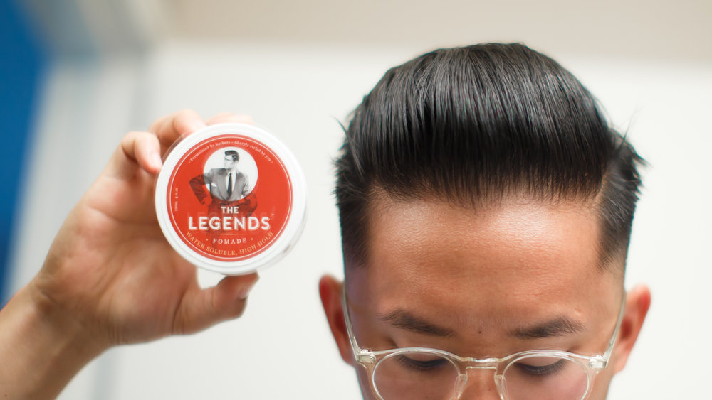 Superb And With A Pomade Review.