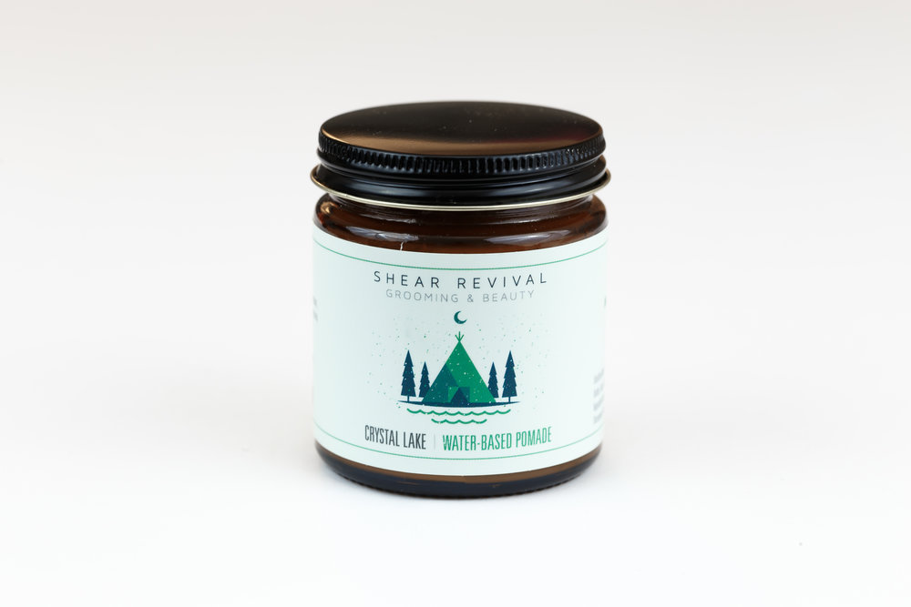 Shear Revival Crystal Lake | Best Water-Based Pomade