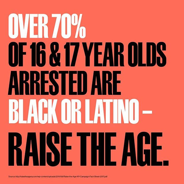 #reasonstoraisetheage  Youth of color are disproportionately affected by injustices in the criminal justice system. Tell your reps to support #raisetheageny and show solidarity this Saturday in a #danceflashmob!  #raisetheage #danceiswhatdemocracylookslike #blacklivesmatter #protest #dancerally #flashmob #flashrally