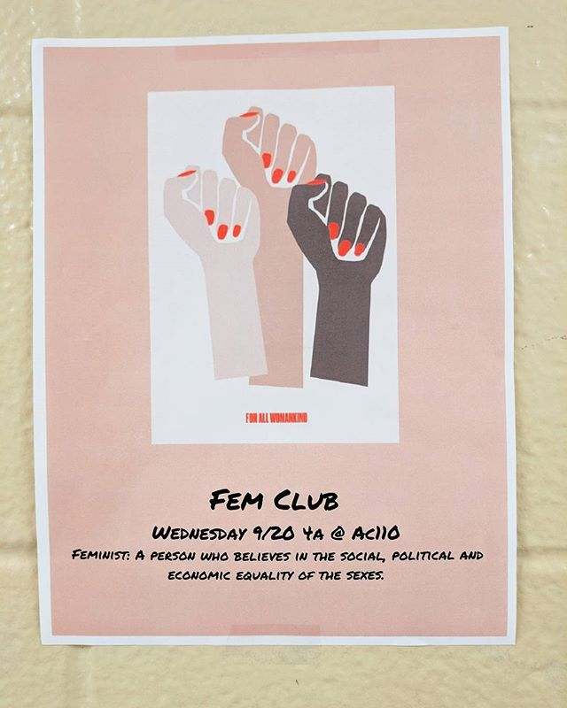 Spotted on the wall of a high school in East Brunswick! @all_womankind @devapardue #startemyoung #forallwomankind #feminism