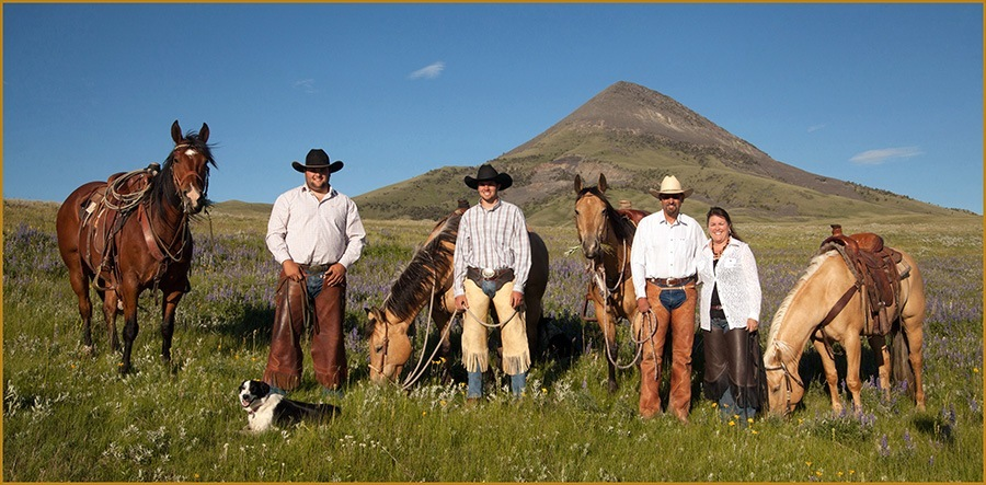 Harmon Quarter Horses is located in Chester, Montana at the heart of the Big Sky's Hi-Line. Theirhome place is just south of town and theysummer their cattle in the Sweet Grass Hills north of town.