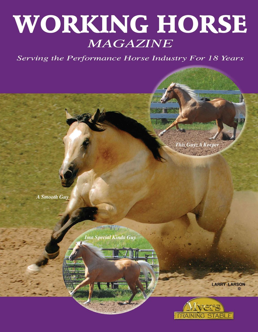 A Smooth Guy Working Horse Magazine Cover