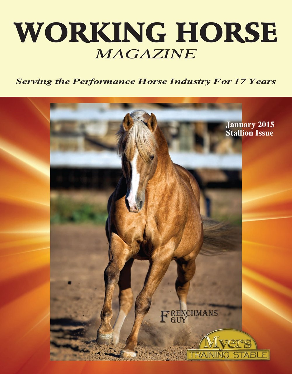 Frenchmans Guy Working Horse Magazine Cover