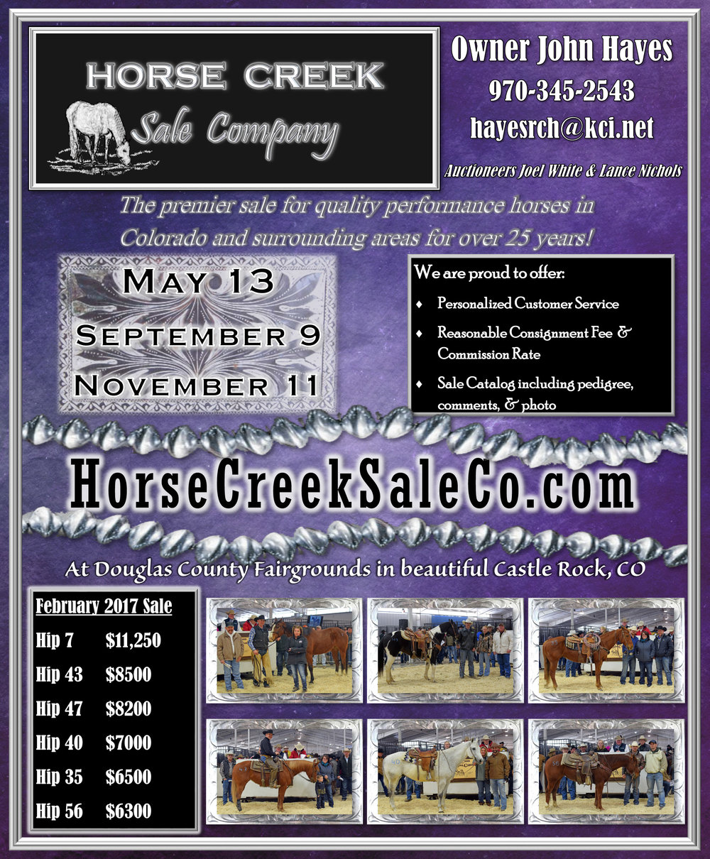 Horse Creek Sale Company