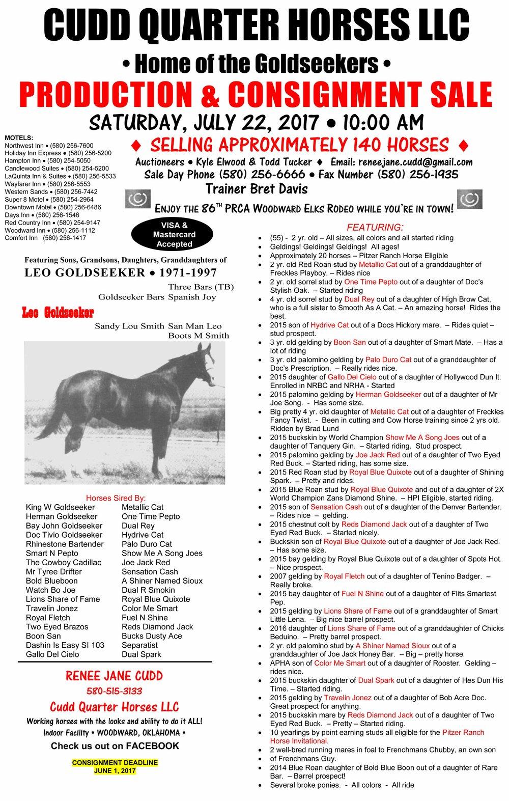 Cudd Quarter Horses