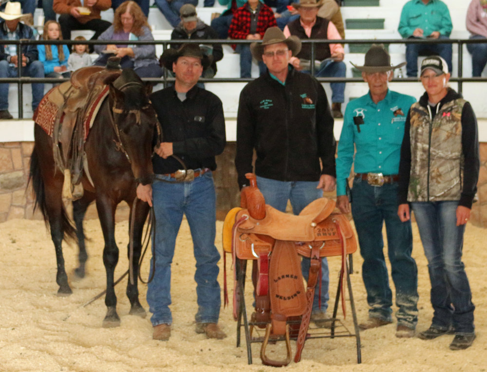 2/3 year old Futurity winner Jessy Carslon Saddle Sponsor Larmer Welding & Wetz Stirrup Ranch.