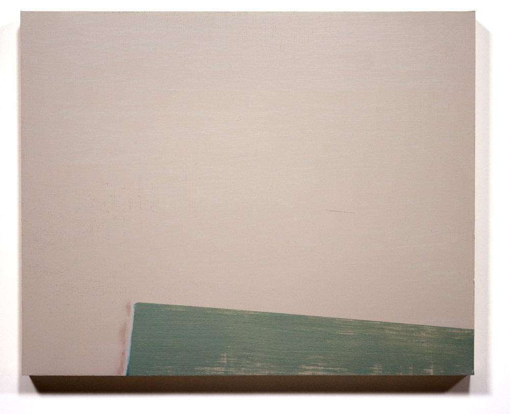"""A Slip  16"""" x 20"""" Oil on wood panel 2016"""