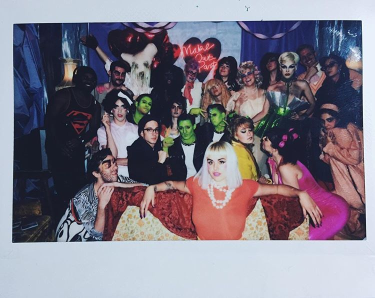'Make Out Party' cast/crew photo
