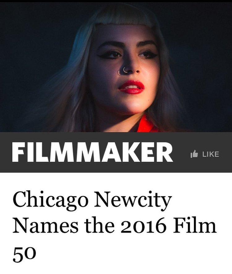 Feature in Filmmaker Magazine -- NewCity Film50 Feature