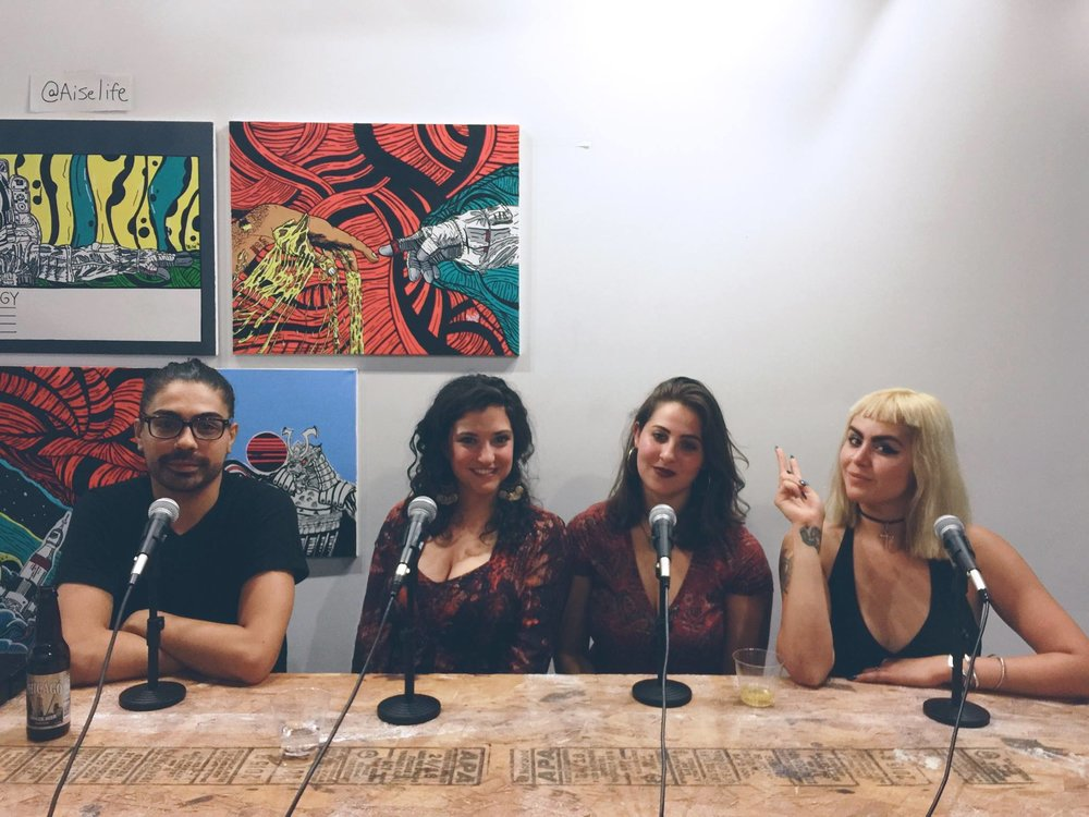 Dynasty Podcasts Chicago's DIY Curators + Creators Live Panel
