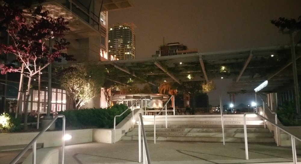 Night Market Courtyard