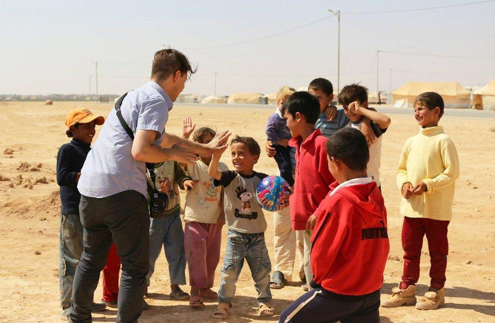 Za'atari refugee camp, 2013