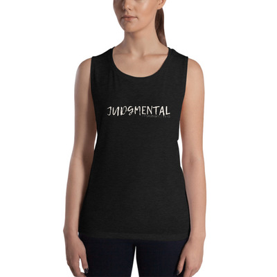 Judgmental Tank (White Font) - $28.50