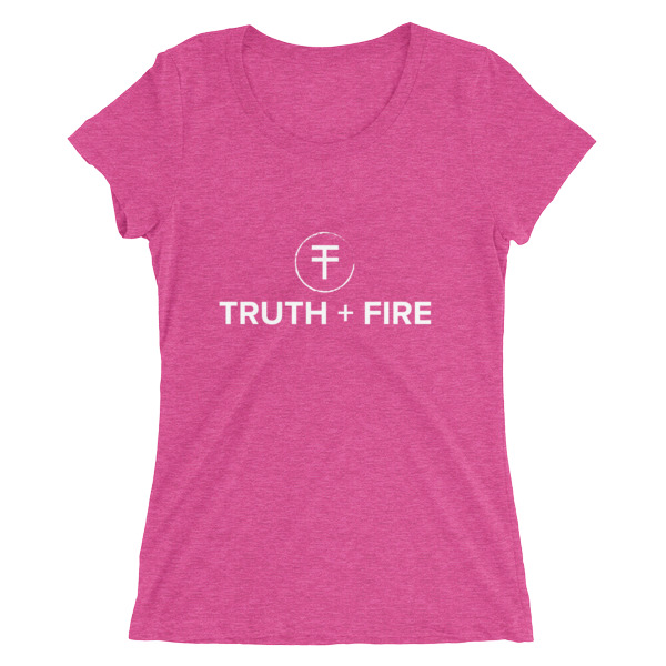 Truth + Fire Branded Tee - $25.00  (Various colors available)