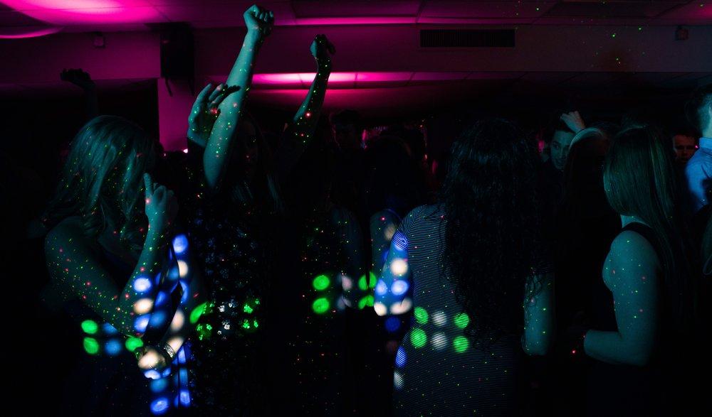 Special party dance floor