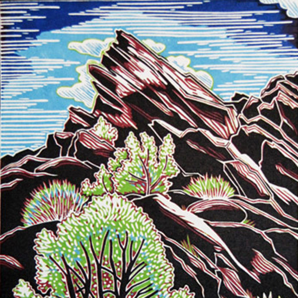 2015    WHITE LINE WOODCUT,   Taught by Joseph Vorgity