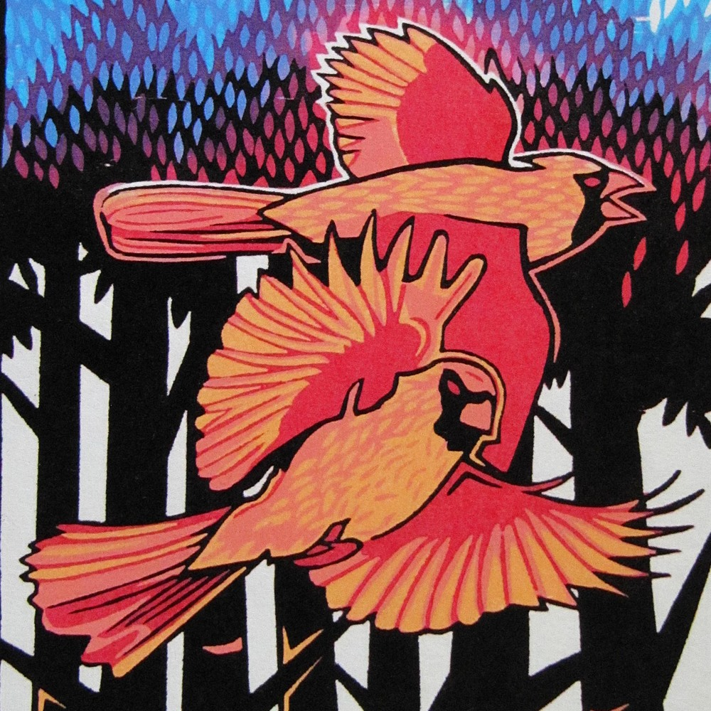 2016   WOODCUT  taught by Joseph Vorgity
