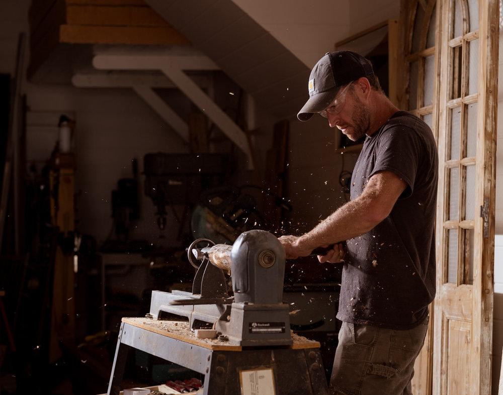Fuji X-T3 Charlie Ball White Barn Workshop Woodworking.jpg