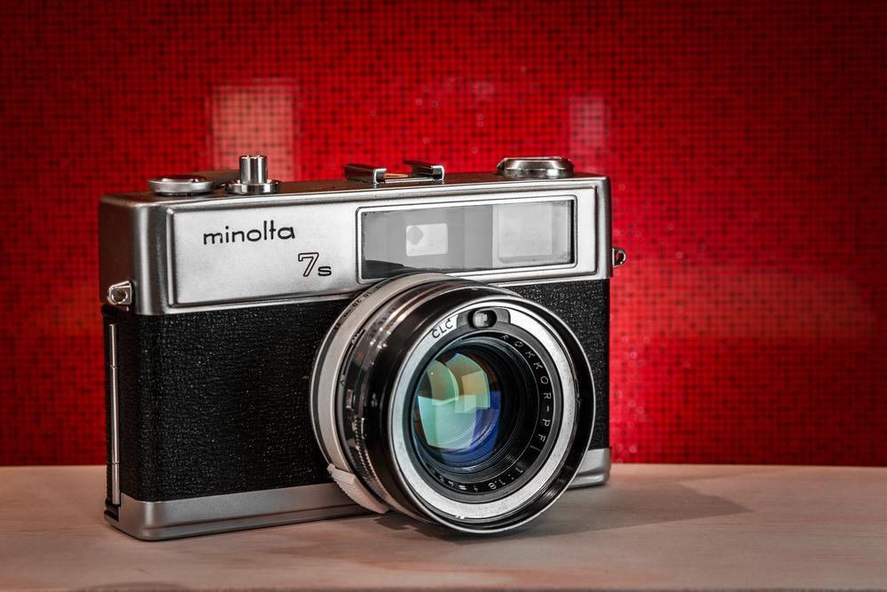 Minolta Himatic 7s Vintage Film Camera