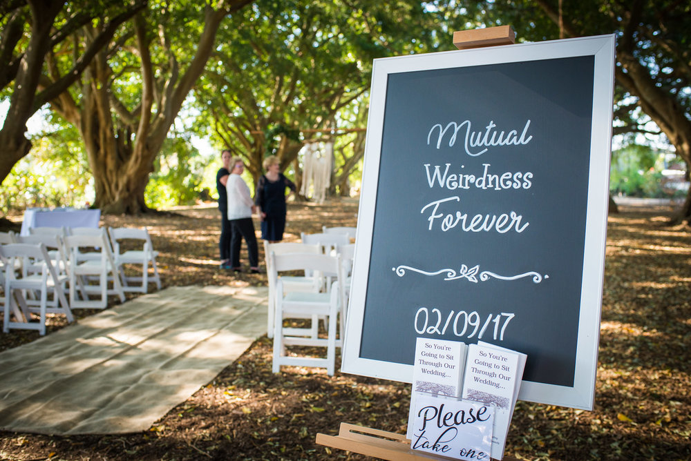 Mutual Weirdness Forever sign